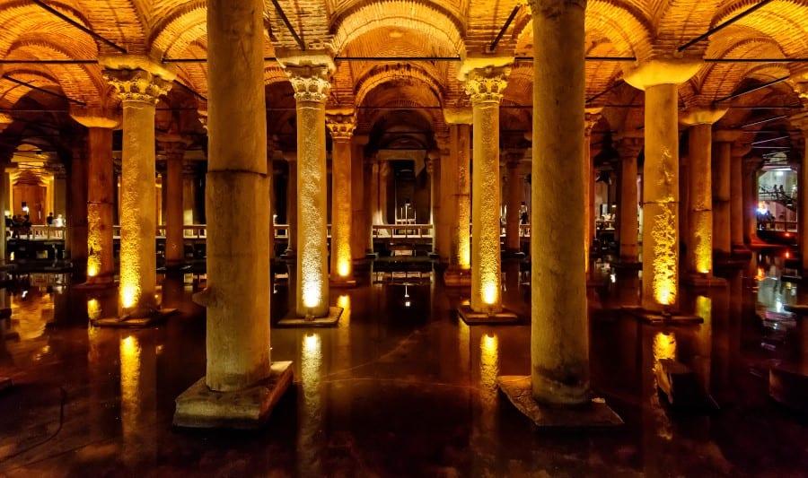 Археологический музей Стамбула внутри