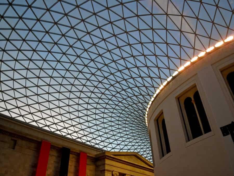 Архитектура здания британского музея