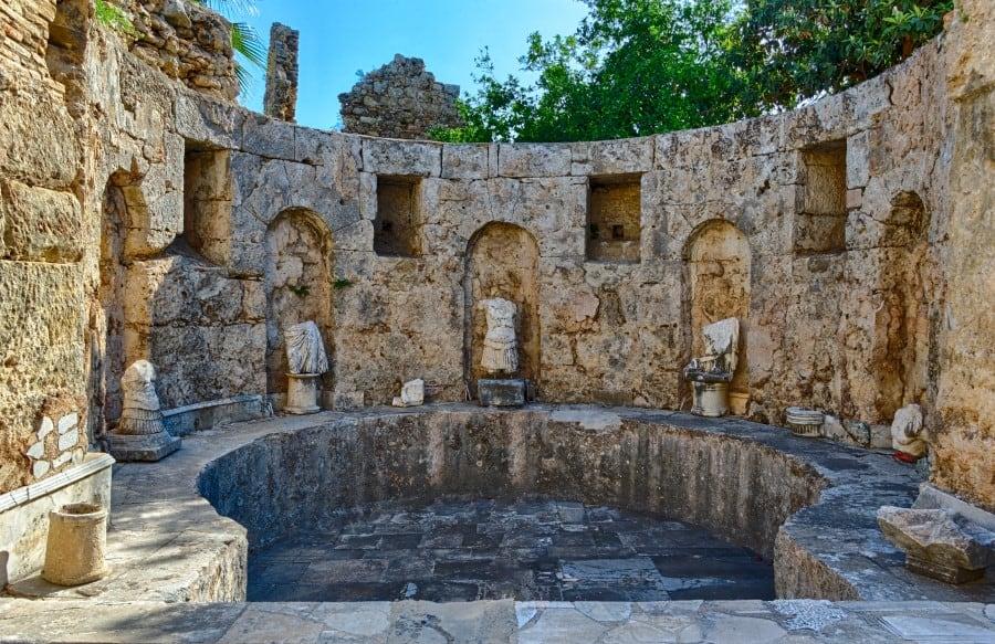 Древняя агора в Сиде