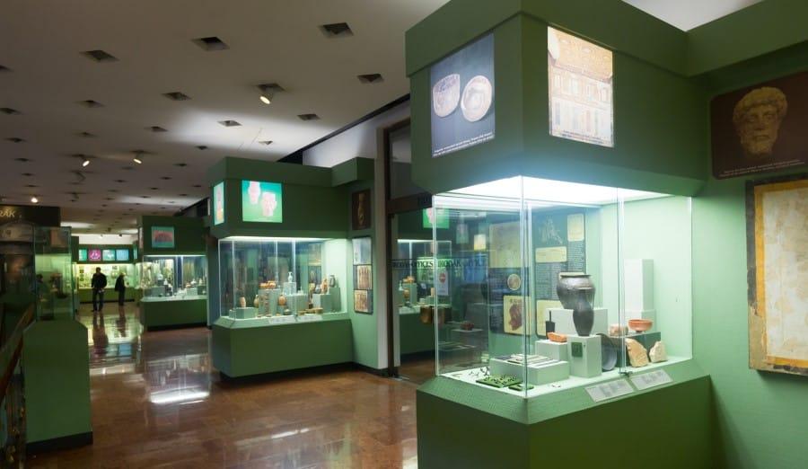 Экспонаты исторического музея Будапешта