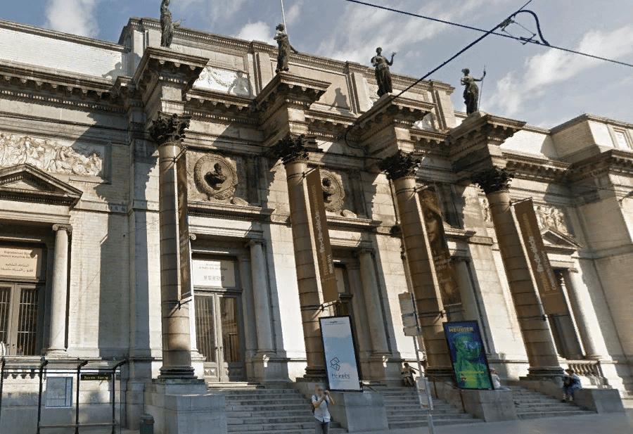 Королевский музей изящных искусств в Брюсселе главный вход