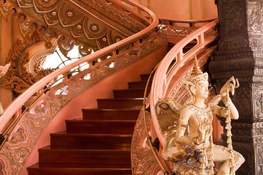 Лестница в музее Эраван
