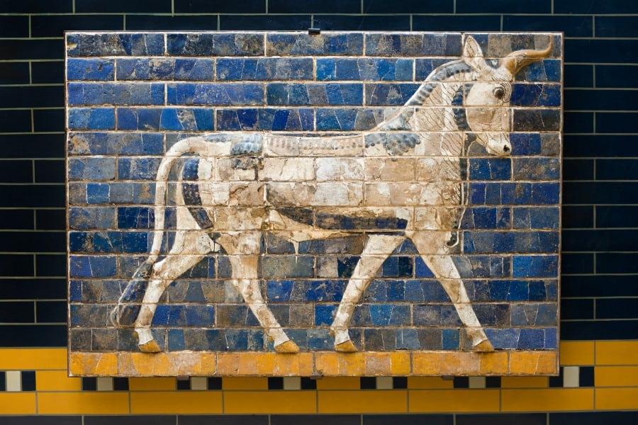 Мозаика которой украшен археологический музей Стамбула