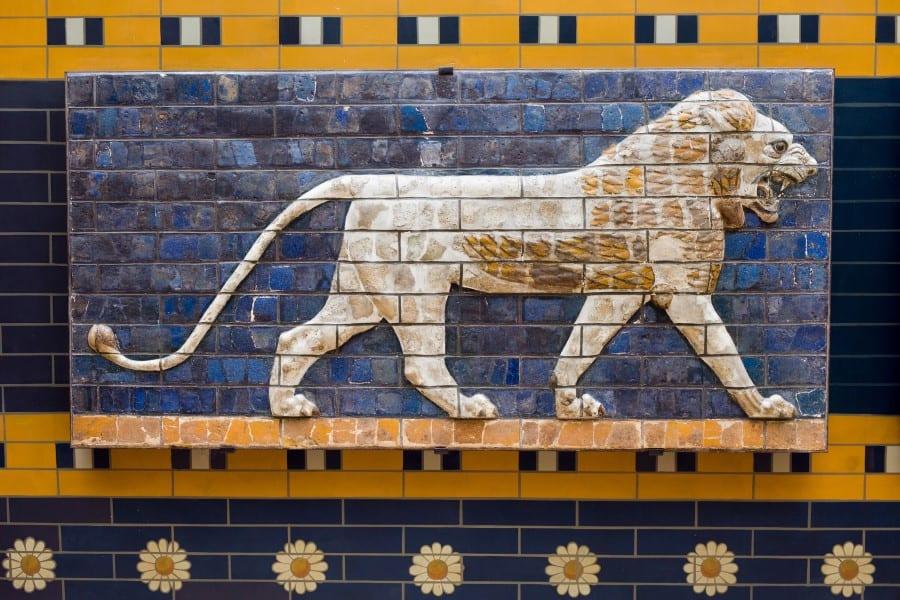 Мозаика на стенах которой украшен археологический музей Стамбула