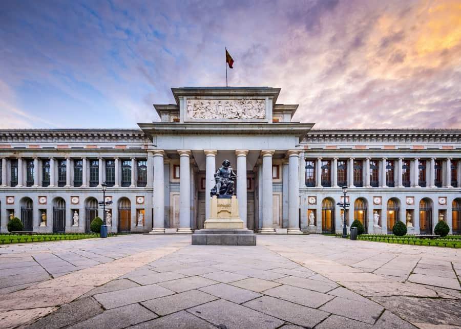 Музей Прадо в Мадриде вид снаружи