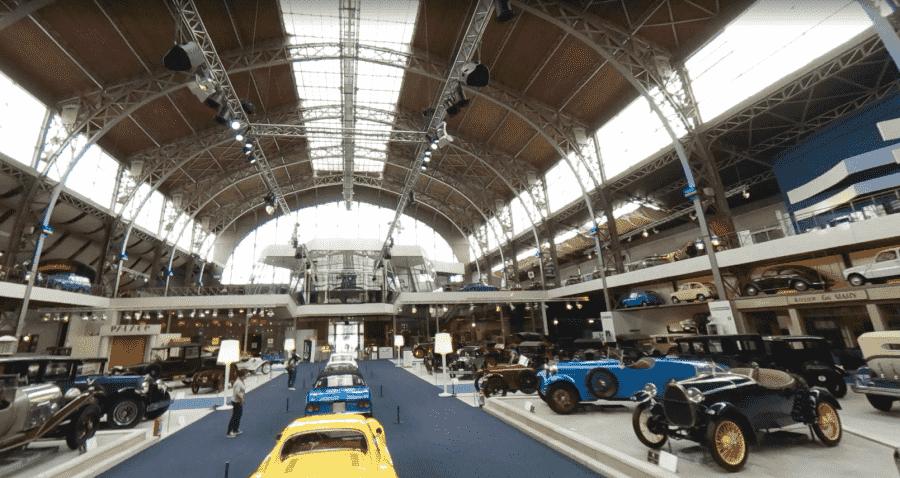 Музей автомир в Бельгии изнутри