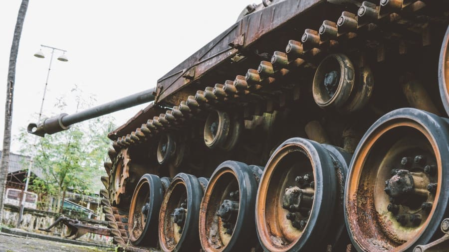 Музей войны во Вьетнаме