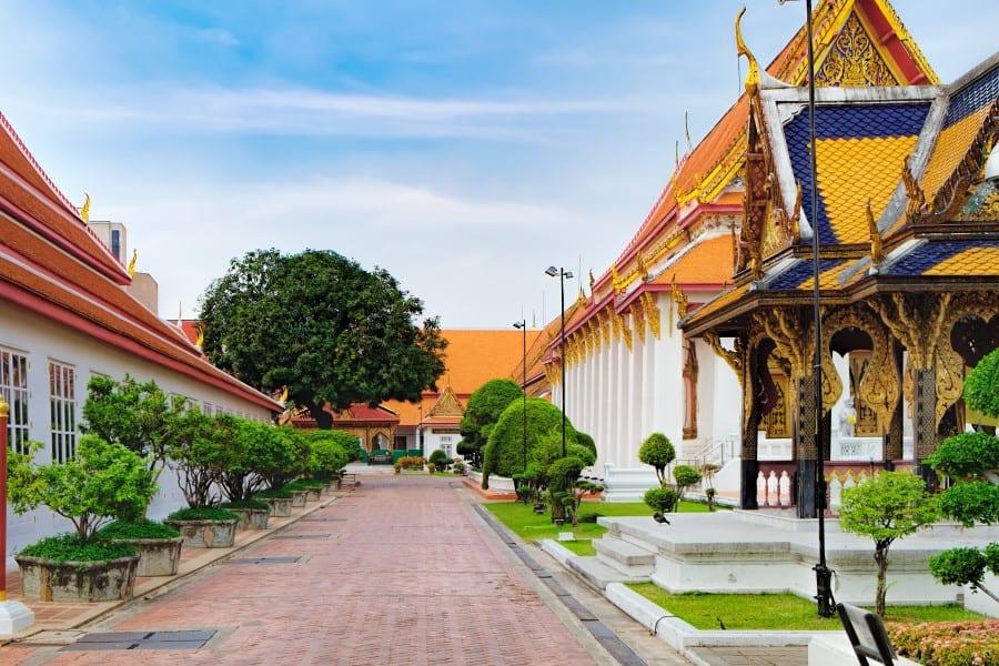 Национальный музей Бангкока расположен в трех зданиях