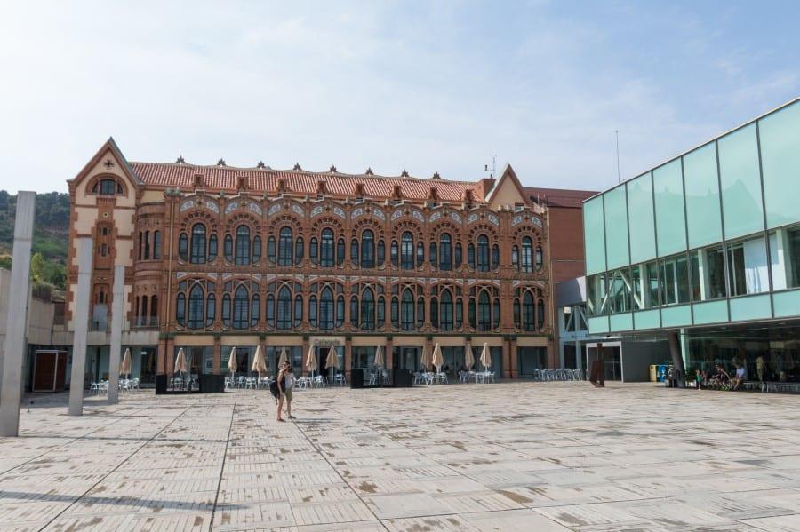 Научно-познавательный музей CosmoCaixa снаружи