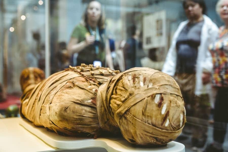 Зал Древнего Египта и Нубии в Британском музее
