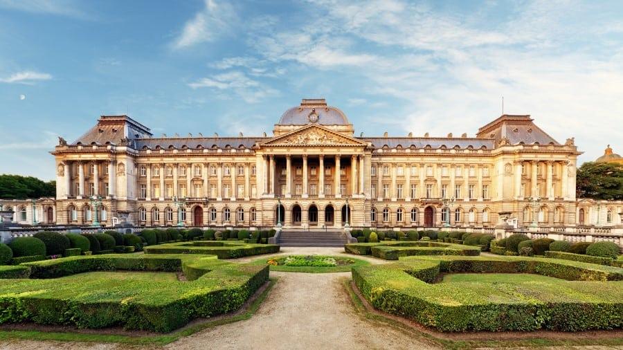 Бельгийский королевский дворец в Брюсселе