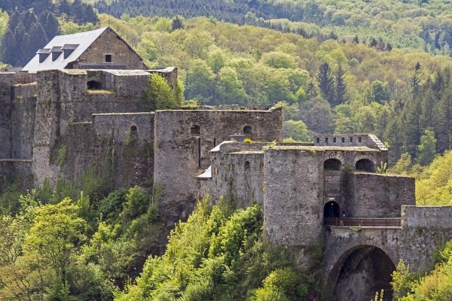 Буйонский замок в Бельгии