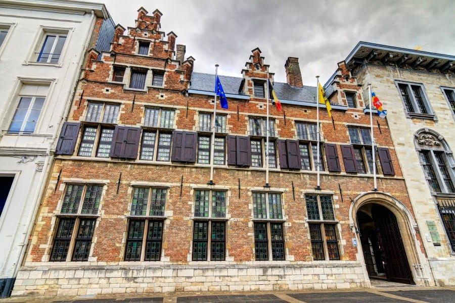 Дом-музей Рубенса в Антверпене снаружи