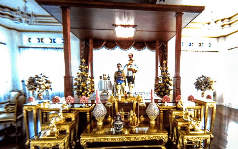 Дворец Виманмек вид внутри