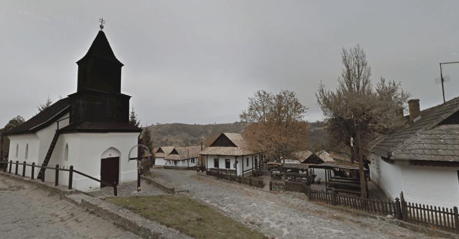Этнографическая деревня Холлокё
