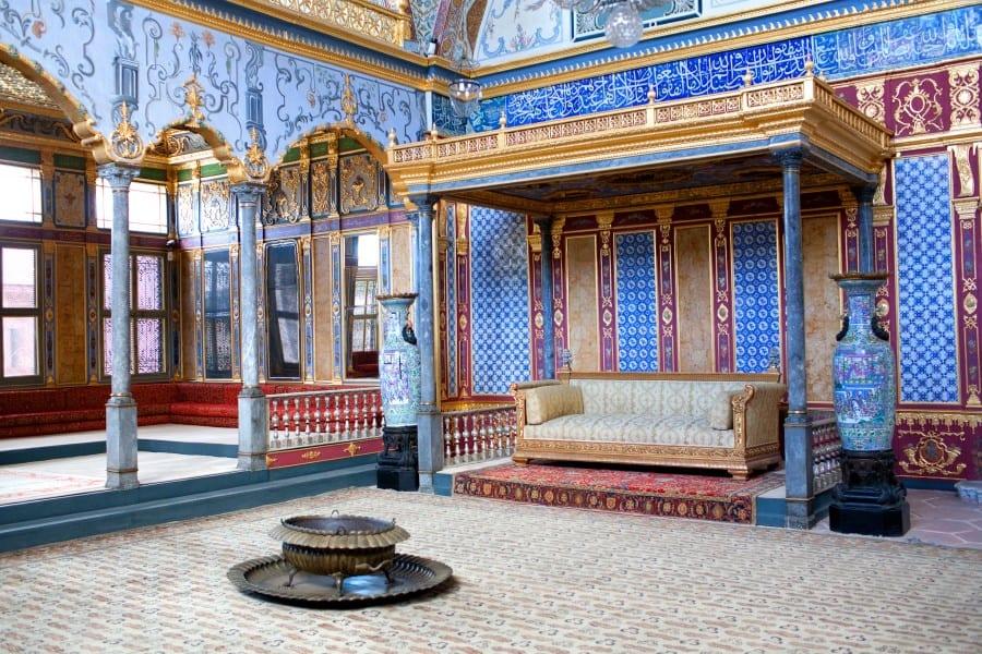 Гарем во дворце Топкапы в Стамбуле