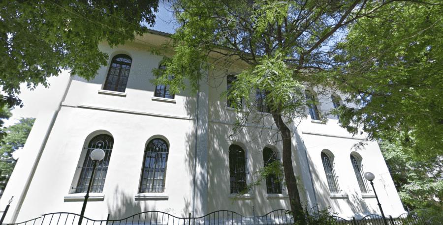 Исторический Музей Помория вид здания сзади