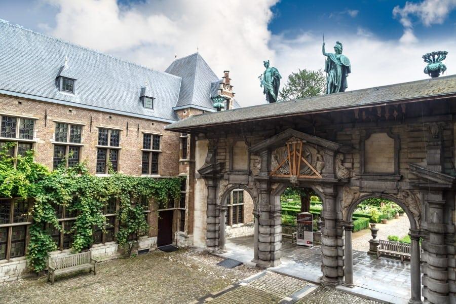 История дома-музея Рубенса в Бельгии