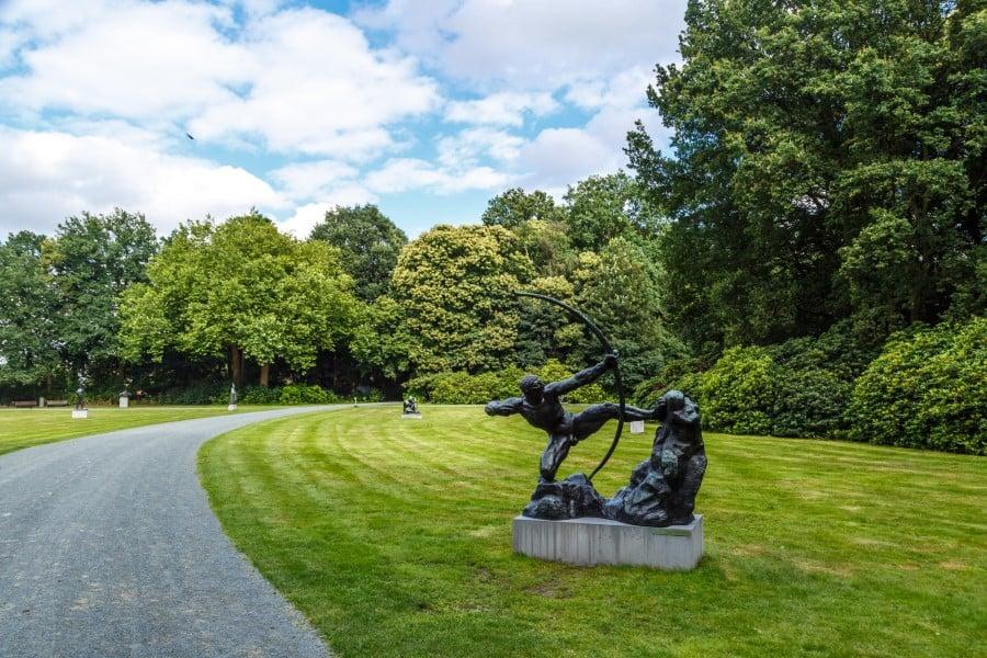 История музея в парке Мидделхейм в Антверпене