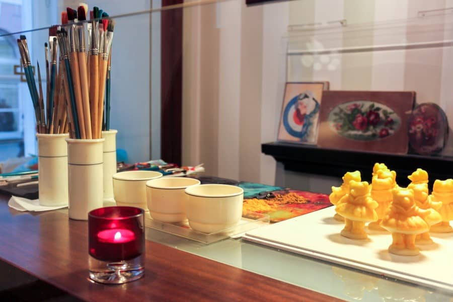Изготовление и разрисовывание марципана в музее