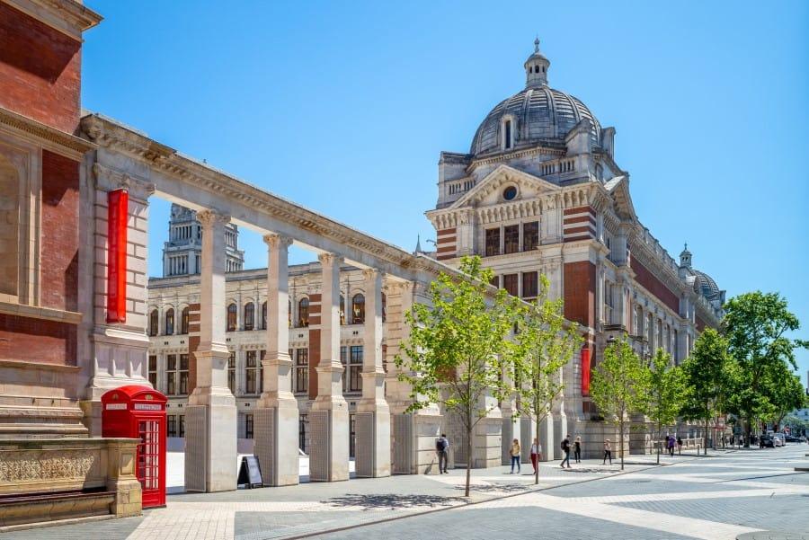 Как выглядит музей Виктории и Альберта в Лондоне издалека