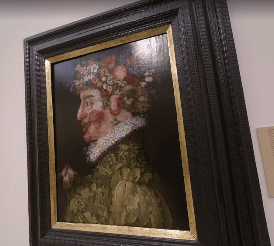 Картина в Королевской академии изящных искусств Сан-Фернандо