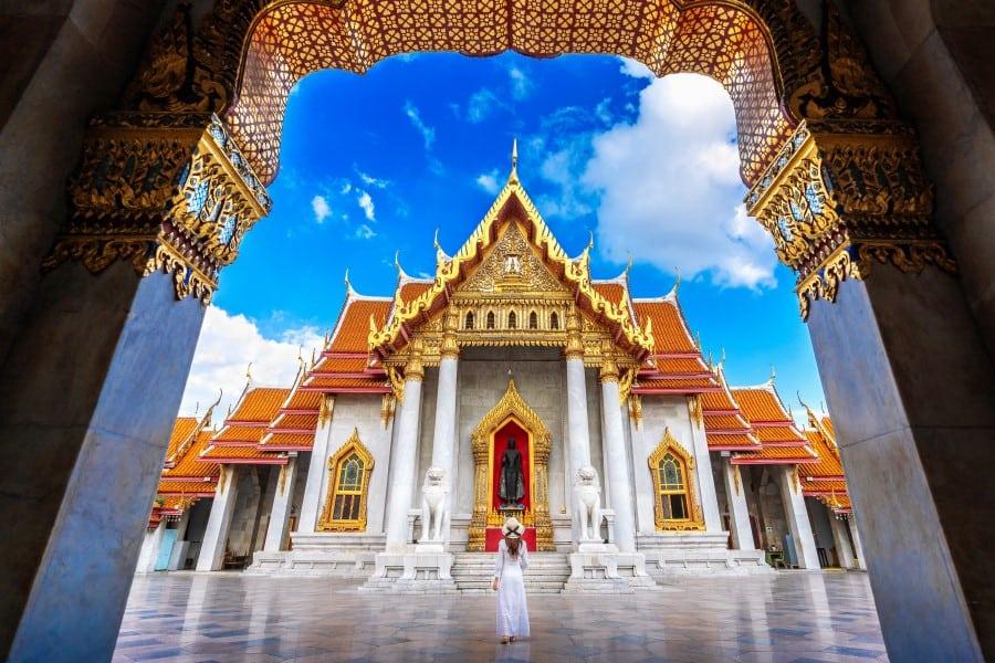 Королевский Дворец в Бангкоке в Таиланде