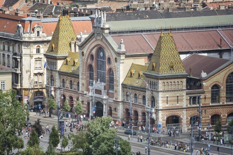 Магазины на улицы Ваци в Будапеште