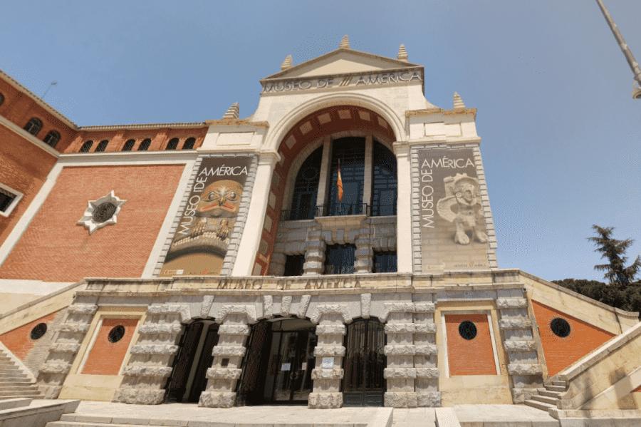 Музей Америки в Мадриде вид с главного входа
