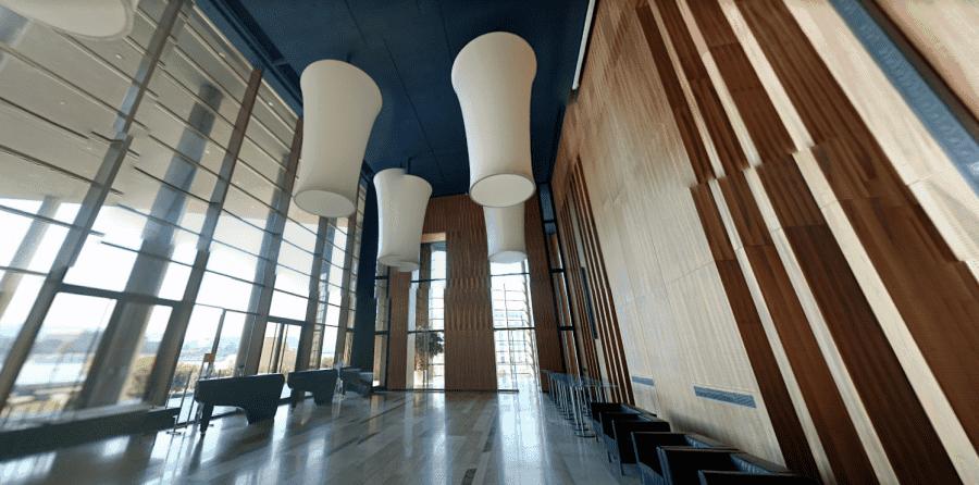 Музей Людвига в Будапеште вид изнутри