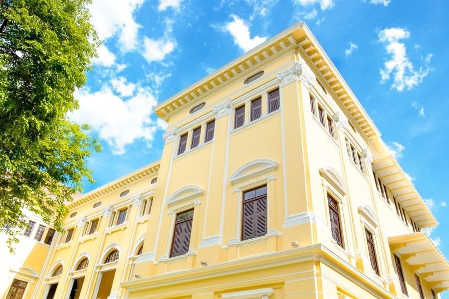 Музей Сиама в Бангкоке само здание