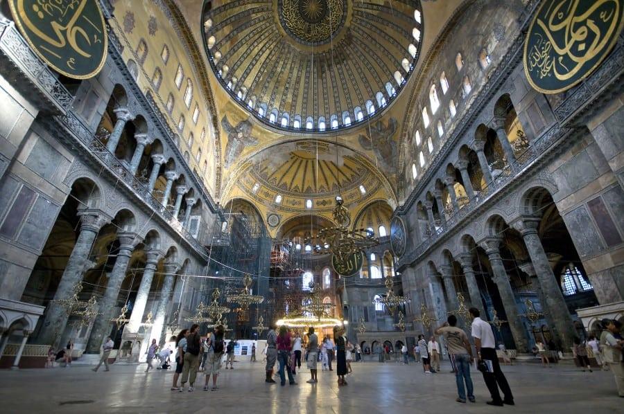 Музей мозаики Большого дворца в Стамбуле
