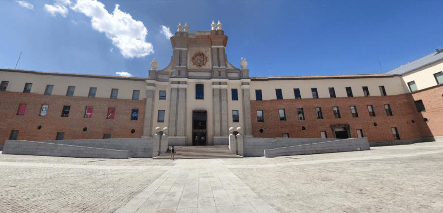 Музей современного искусства в Мадриде в Испании