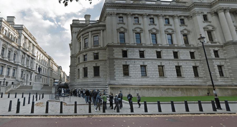 Очередь в музей-бункер Черчилля в Лондоне