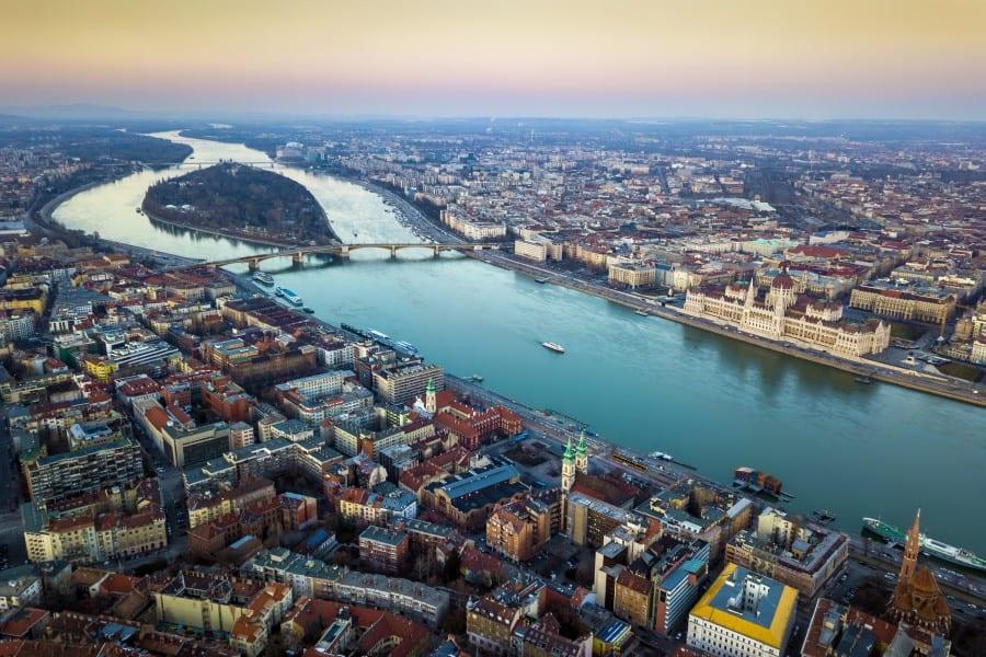 Остров Маргит в Будапеште