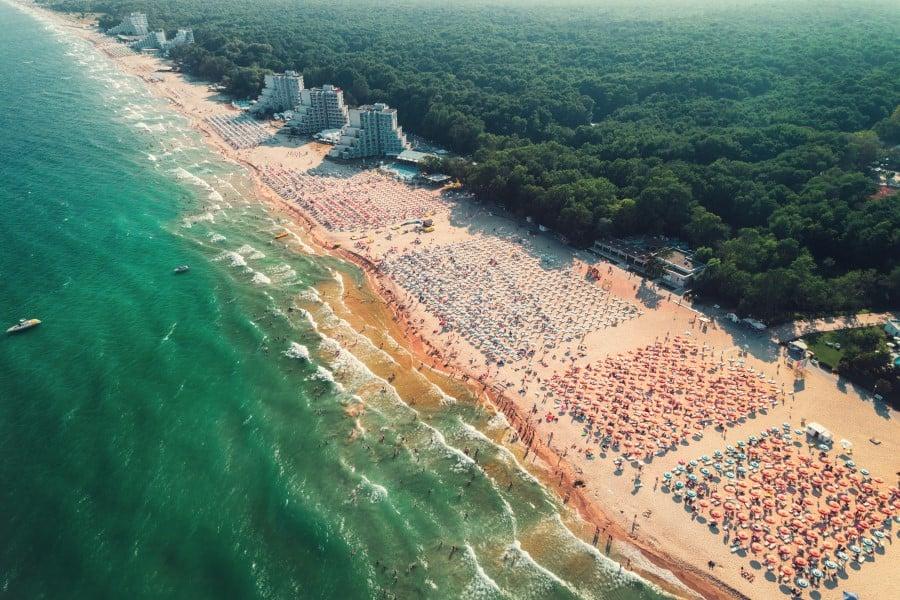 Пляж Албены в Болгарии