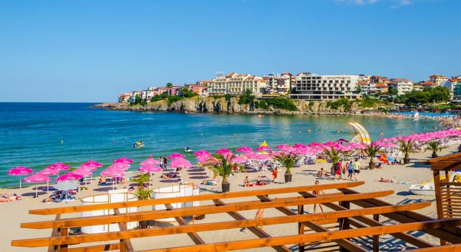 Пляжи Созополя в Болгарии