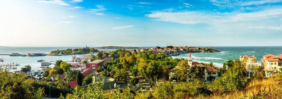 Посёлок Созополь в Болгарии