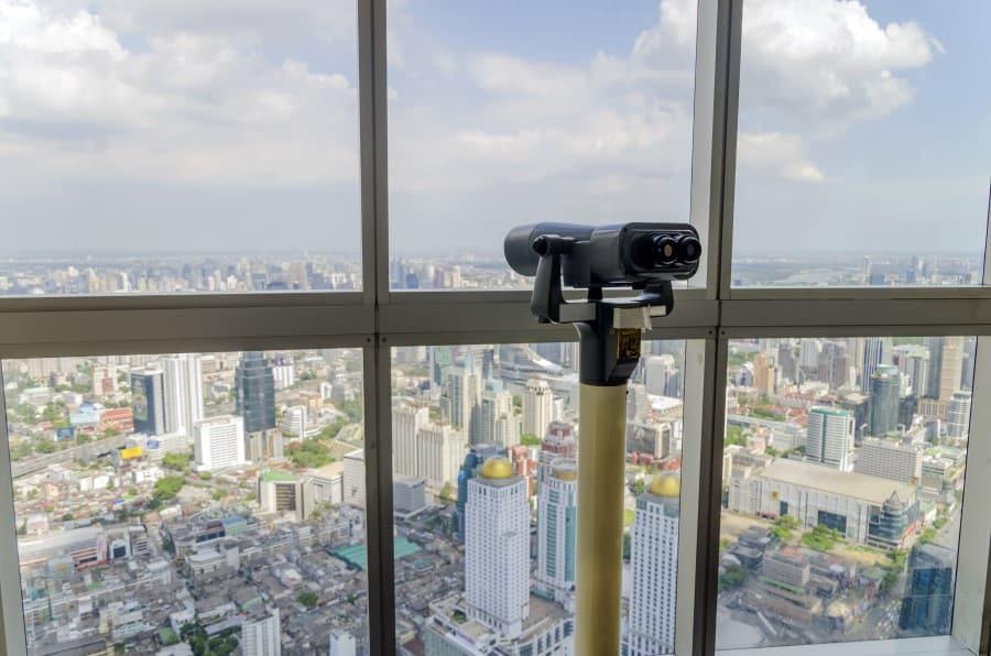 Смотровая площадка в небоскребе Байок Скай
