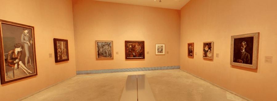 Современная галерея музея Тиссен-Борнемиса в Мадриде