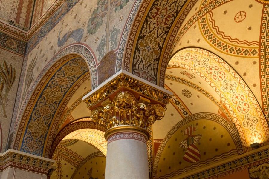 Внутреннее убранство Венгерского национального музея