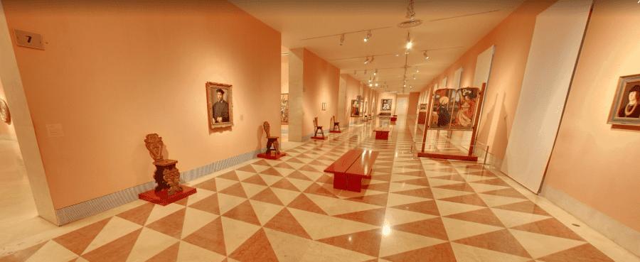 Зал музея Тиссен-Борнемиса в Мадриде