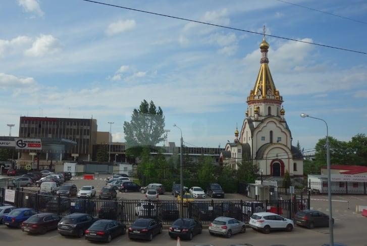 Церковь в Шереметьево