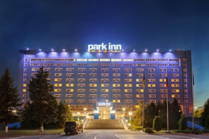 Внешний вид отеля park inn