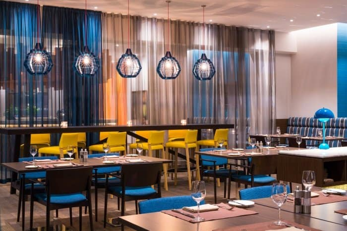 Ресторан в отеле radisson