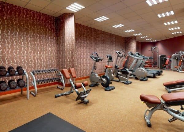 Фитнес-центр в отеле Sheraton Moscow Sheremetyevo