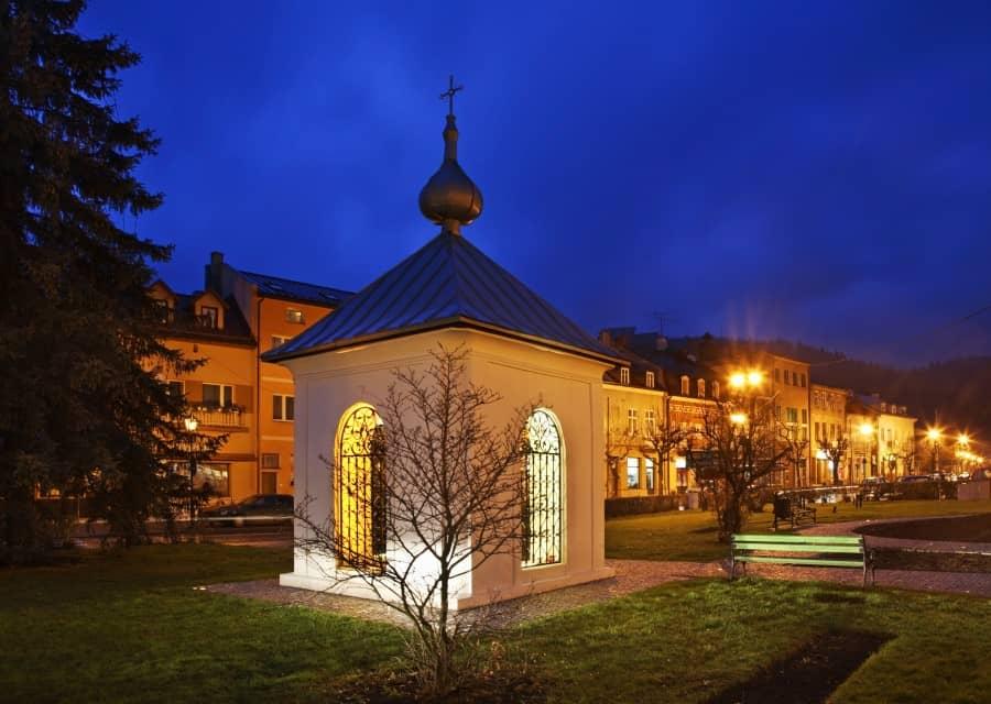 Часовня Святого Флориана в Старом городе в Кракове
