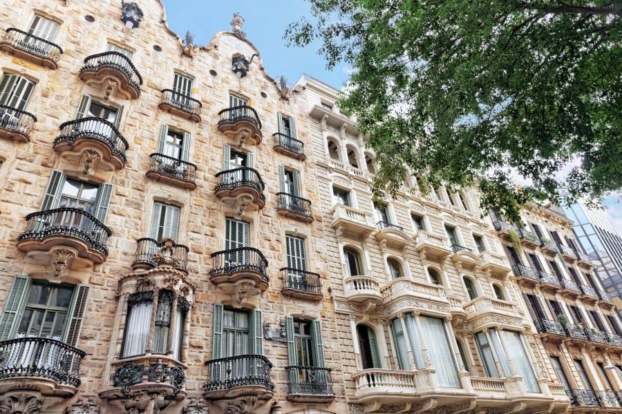 Дом Кальвет в Барселоне (Испания)