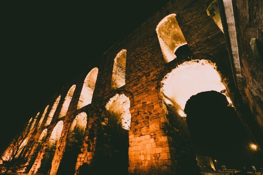 История Акведук Валента в Стамбуле