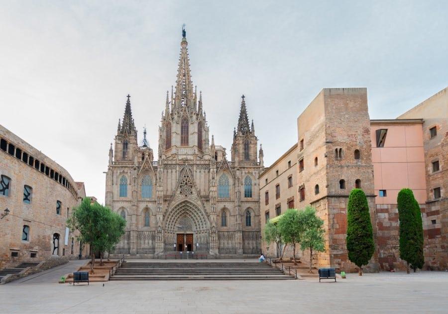 История Готического квартала в Барселоне